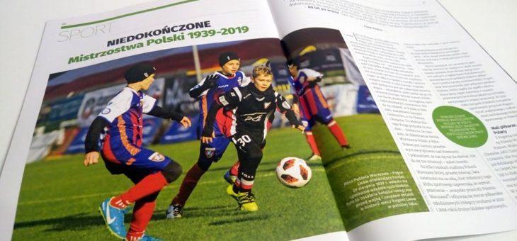 Świetnym reportażu poświęconym Turniejowi Niepodległości o Puchar PGE w Tygodnik Solidarność 😃👌❤️